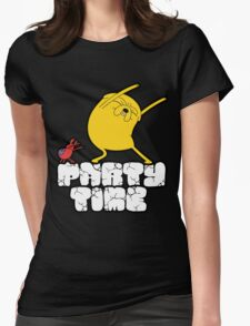 Party time Womens Fitted T-Shirt