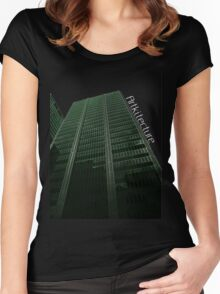 Digitize Green Logo Women's Fitted Scoop T-Shirt