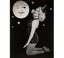 Halloween Pinup Photographic Print