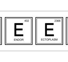 Geek elements Sticker