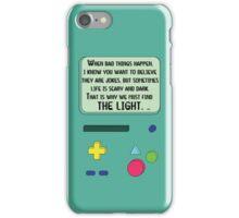 BMO Case Quote iPhone Case/Skin