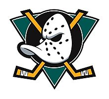 Anaheim Mighty Ducks Photographic Print