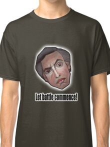 Let battle commence! - Alan Partridge Tee Classic T-Shirt