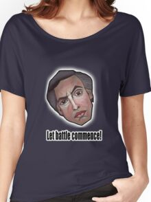Let battle commence! - Alan Partridge Tee Women's Relaxed Fit T-Shirt