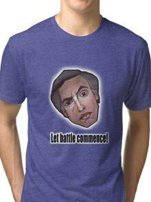 Let battle commence! - Alan Partridge Tee Tri-blend T-Shirt