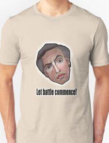 Let battle commence! - Alan Partridge Tee T-Shirt