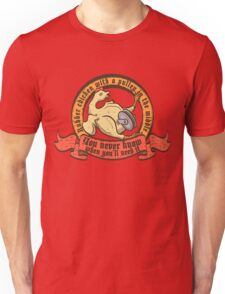 Rubber chicken with a pulley in the middle T-Shirt