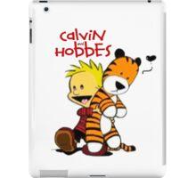 Calvin And doll hobbes iPad Case/Skin