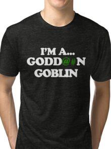 MartianVGoblin Tri-blend T-Shirt