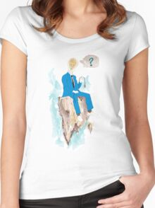 Pensatore illuminato Women's Fitted Scoop T-Shirt