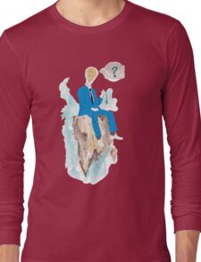 Pensatore illuminato Long Sleeve T-Shirt
