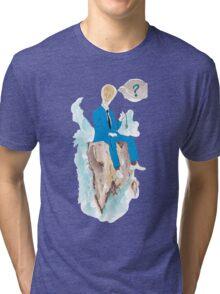 Pensatore illuminato Tri-blend T-Shirt