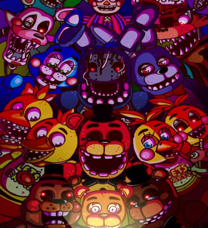 Five Nights at Freddys Sticker