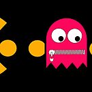 Pacman - The Ghosts - Pinky by Rastaman