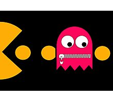 Pacman - The Ghosts - Pinky Photographic Print
