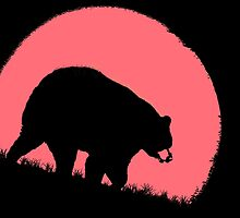 The Pink Moon Bear by Betsy  Seeton