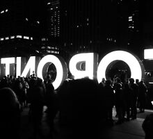 Toronto Nuit Blanche by Valentino Visentini