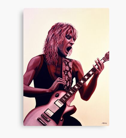 Randy Rhoads painting Canvas Print