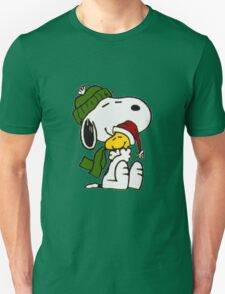Christmas snoopy Unisex T-Shirt