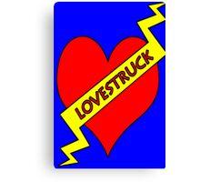"lovestruck ""tattoo"" Canvas Print"