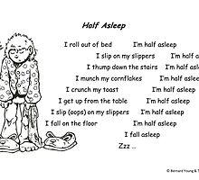 Half Asleep by YoungPoet