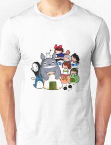 funny ghibli full colour T-Shirt