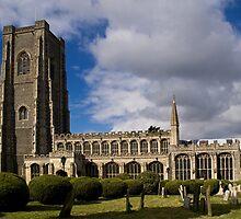 Lavenham Church by Country  Pursuits