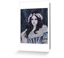 Morgana Le Fay Greeting Card