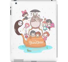 love it ghibli studio iPad Case/Skin