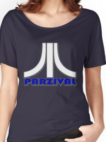Ready Player One? Parzival Atari Logo Women's Relaxed Fit T-Shirt