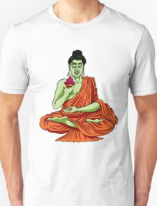 The Buddha Is Cool As Ice (Cream) Unisex T-Shirt