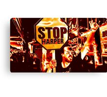 Red Rally Canvas Print