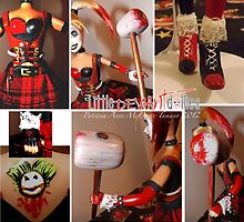Harley Quinn details by deviantdolls