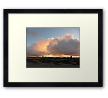 CLOUDS OVER NEW BRIGHTON Framed Print