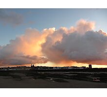 CLOUDS OVER NEW BRIGHTON Photographic Print