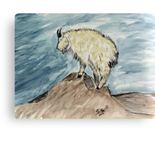 """""""King Of The Mountain""""  by Carter L. Shepard Canvas Print"""
