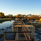 Upper Edge of the Sioux Falls by Scott Hendricks