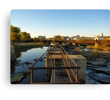 Upper Edge of the Sioux Falls Canvas Print