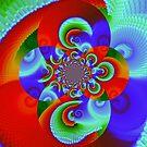 Bright Fractal by WildestArt