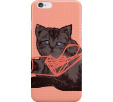 Cat's Cradle iPhone Case/Skin