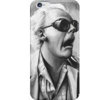 doc brown iPhone Case/Skin