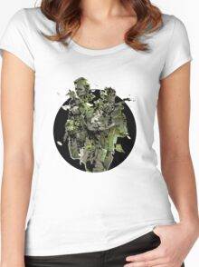 Metal Gear Solid Snake Eater (2) Women's Fitted Scoop T-Shirt