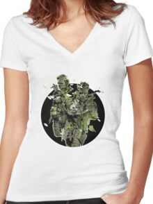 Metal Gear Solid Snake Eater (2) Women's Fitted V-Neck T-Shirt