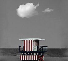 Lifeguard Shelter by stckhlmsyndrm