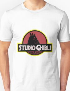 ghibli studio jurassic style T-Shirt