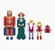 MotU Royal Family sticker set by Brad linf