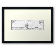 Nautical Inspiration Framed Print