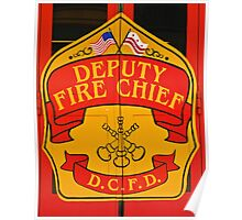 Deputy Fire Chief Poster
