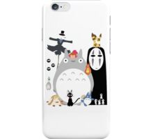 Studio Ghibli Gang iPhone Case/Skin