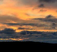 Sunrise over Barnsley by Nick Field